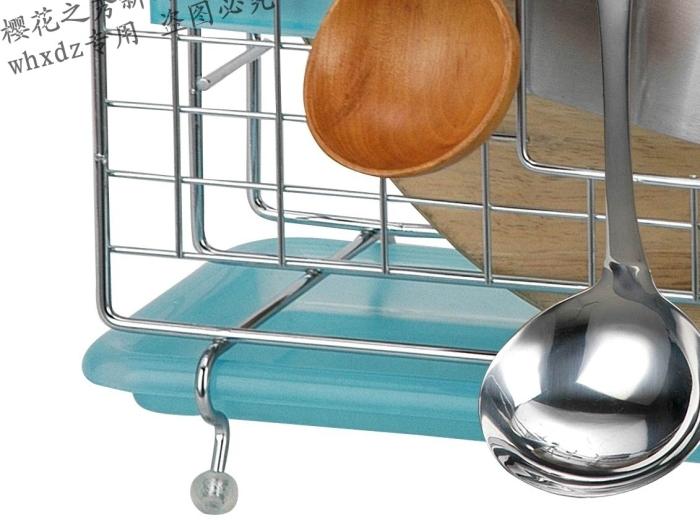 樱花之秀多功能屋型刀架筷子砧板沥水架不锈厨房钢挂件置物收纳钢