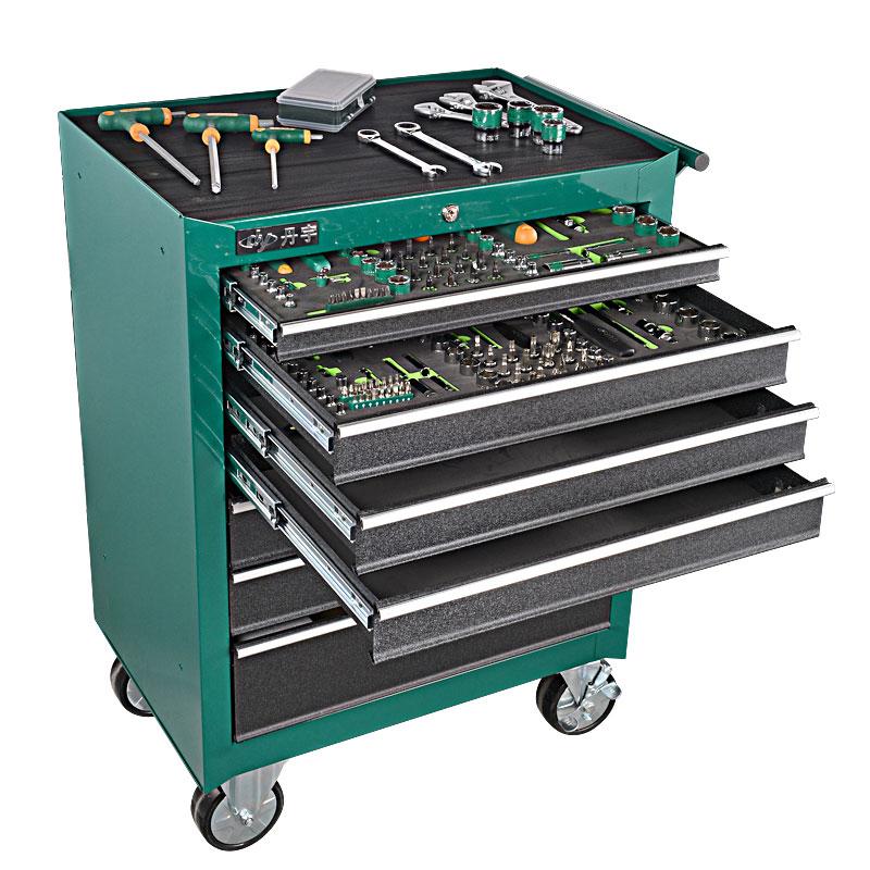 层工具柜抽屉式多功能设备工具箱维修套装推车 5 丹宇汽修工具车