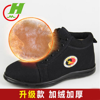 红棉太极鞋冬季保暖棉鞋加厚加绒
