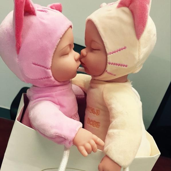 兔子電動娃娃唱歌仿真睡眠安撫毛絨玩具嬰兒