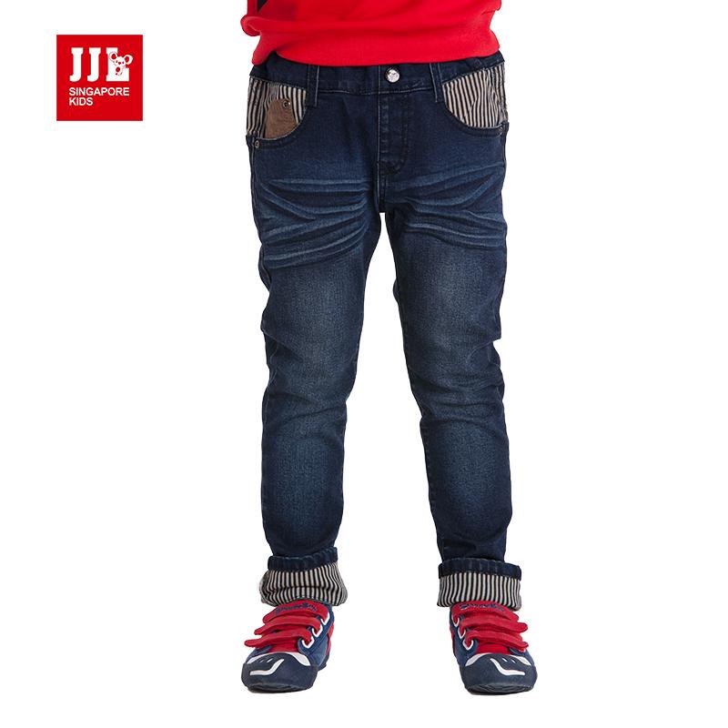 品牌童装秋季男童牛仔裤小孩直筒长裤休闲男5-7-10-12-14岁潮韩版