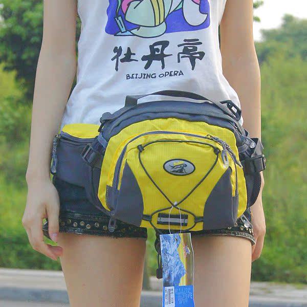 户外腰包单肩包男女多功能腰包旅行休闲运动包斜挎包登山骑行腰包