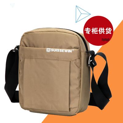 天天特价SN5052v瑞士SUISSEWIN专柜单肩斜挎男女大容量登山旅行包
