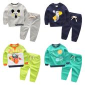 男童卫衣长袖套装 2017春装新款童装 宝宝儿童两件套潮U3935