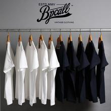 非indigo T恤男女通款 BPCALL1.0 vintage日本重磅厚实纯棉面料短袖图片
