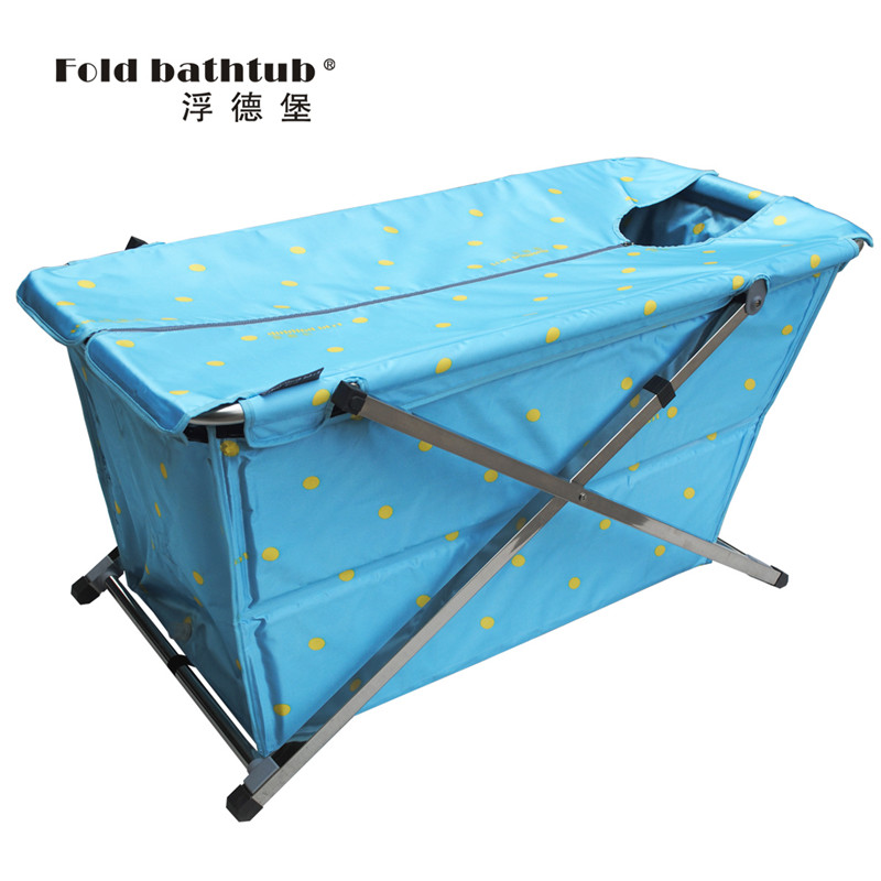 2014新品浴缸/浮德堡折叠浴缸/美容泡澡桶/免充气成人浴盆/保健