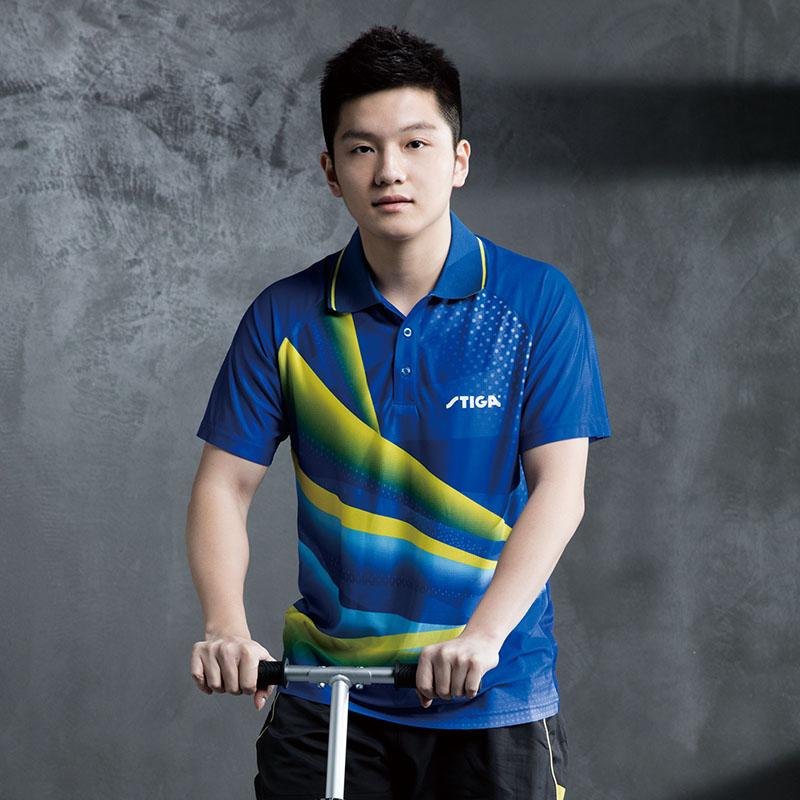 斯蒂卡乒乓球服stiga女男短袖速干T恤套装乒乓球衣服乒乓球运动服