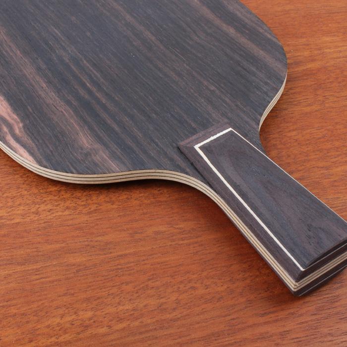 大先生底板 BIGMAN 黑檀7改进版结构,七层纯木结构乒乓底板