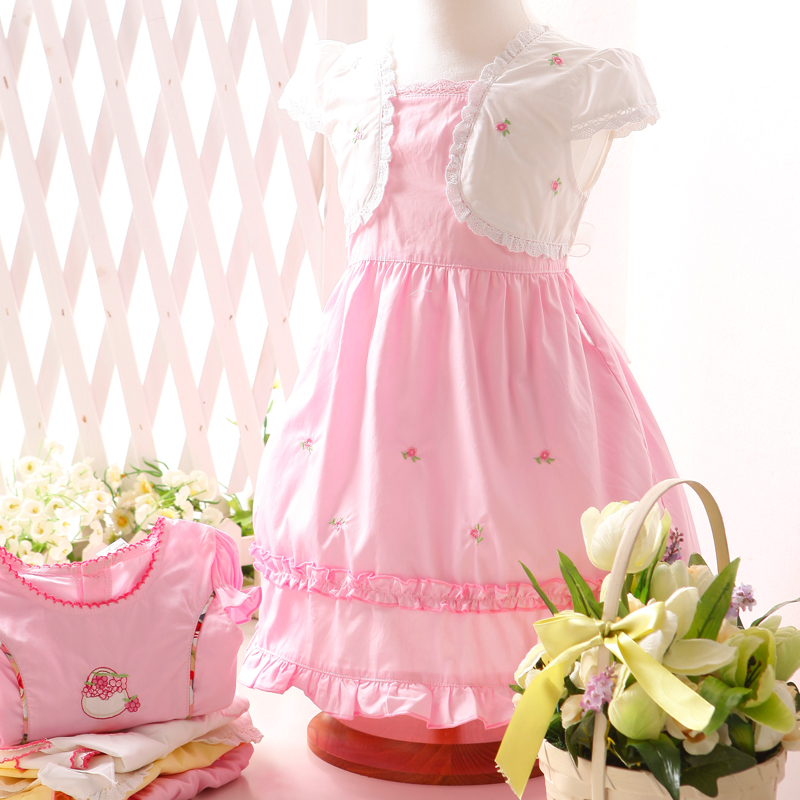慧稚园 宝宝裙子 夏季短袖裙0-3岁婴儿纯棉衣 新品促销0040