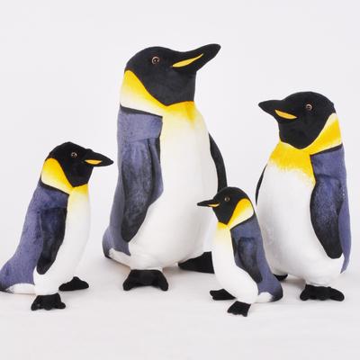 海洋乐园仿真企鹅公仔 快乐的大脚马达加斯加毛绒玩具玩偶抱枕