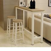 高脚桌椅 长条 靠墙小吧台客厅隔断玄关桌窄桌子 简约吧台桌家用