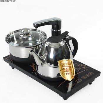 电磁茶炉自动上水三合一茶具套装