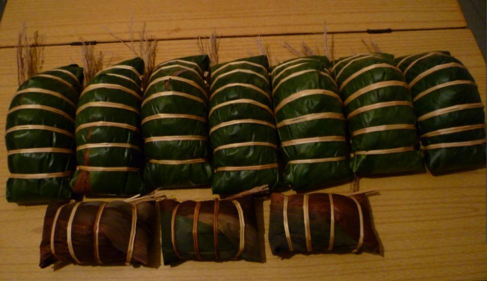 石姐亲手做 广西年粽 大肉粽 大肉绿豆芝麻 2斤一个