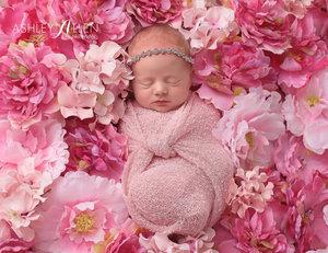 新生儿拍照道具 满月百天宝宝摄影装饰大花朵 儿童摄影影楼用品