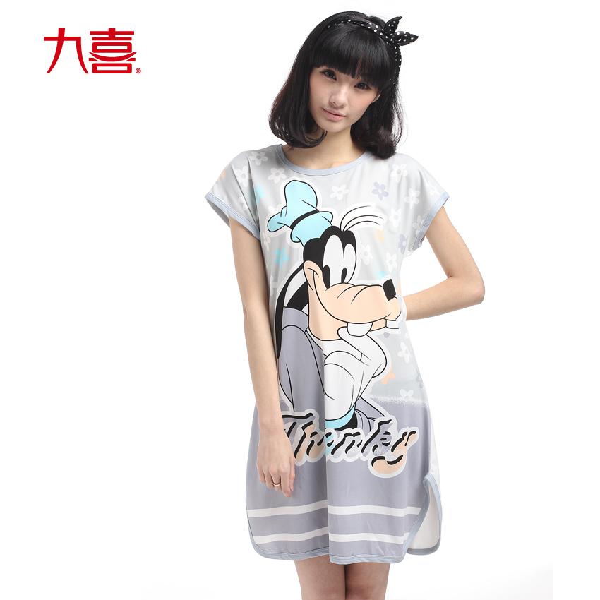 九喜新款睡衣女夏季女士性感可爱居家服短袖卡通夏天家居服套