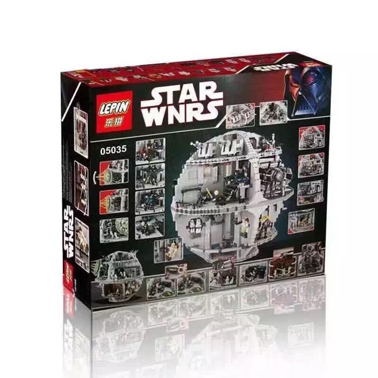 乐拼05035乐高星球大战10143究极-死星2号绝版益智拼装积木玩具