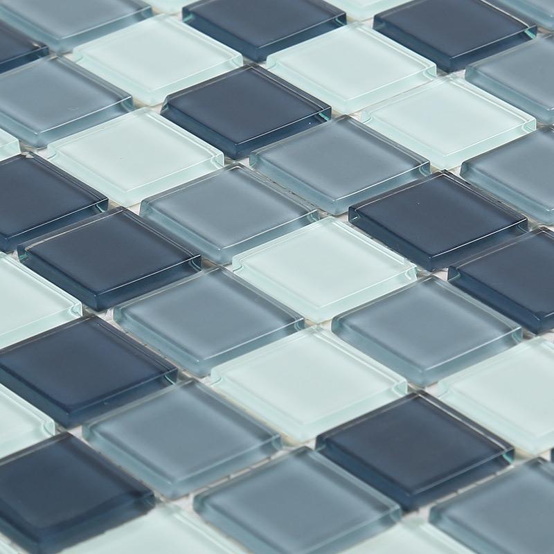 玻璃水晶马赛克瓷砖镜面电视背景墙贴砖浴室卫生间厨房吧台游泳池