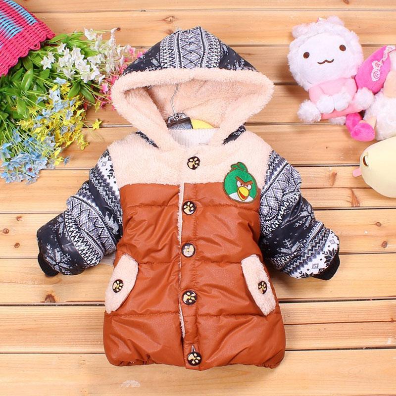 冬季男童棉衣新款反季童装儿童加厚加绒棉衣外套小童棉服