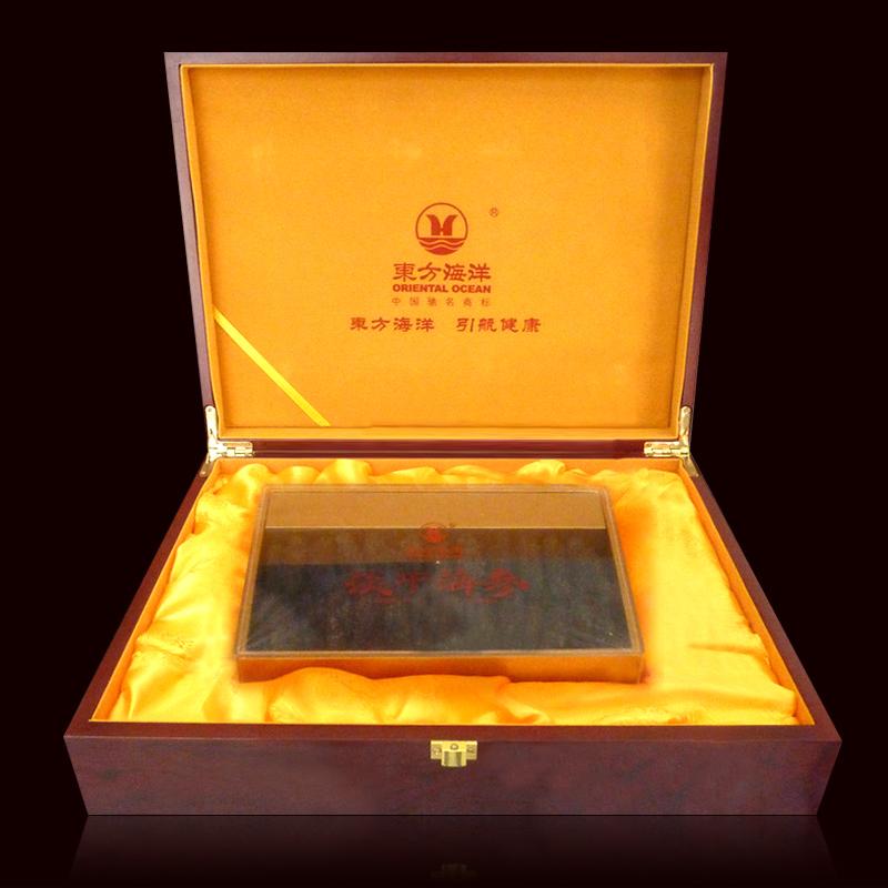东方海洋刺参野生淡干海参礼盒 400克淡干海参精美礼盒装