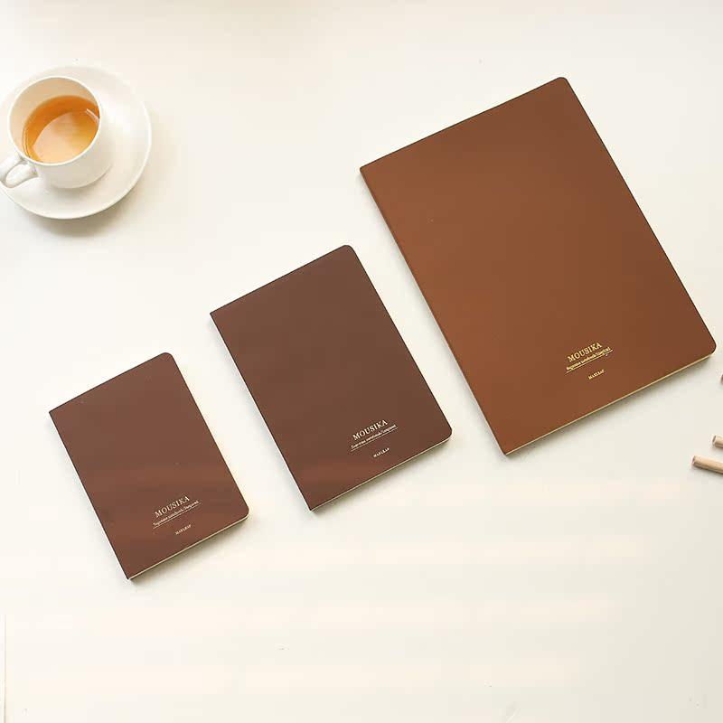 韩国文具本子批发16K厚笔记本复古日记大本子32K商务日记本子包邮