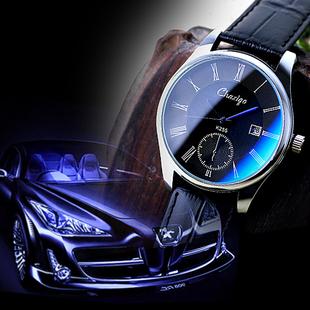 时尚手表男士皮带防水男表品质韩国版潮流女士学生机械石英腕手表