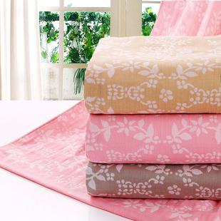 夏季纯棉纱布毛巾被双人夏凉被婴儿童盖毯单人床单午睡空调毯子
