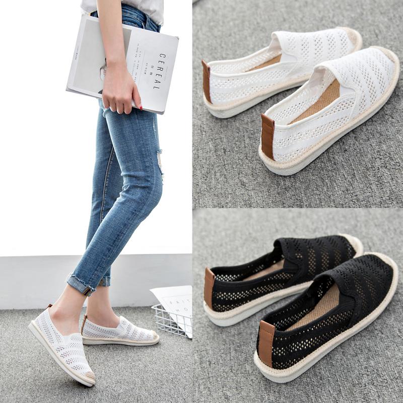 学生鞋韩版脚蹬女鞋帆布鞋懒人渔夫夏季