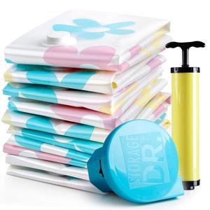 收纳博士加厚真空压缩袋4特大4中送电泵 被子衣物整理收纳袋包邮