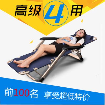 家用睡觉靠背椅子成人老办公室平躺椅帆布折叠午休加厚便携沙滩椅