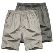 中老年短裤 男宽松大码 老人短裤 夏季五分裤 爸爸装 中年男士 天天特价