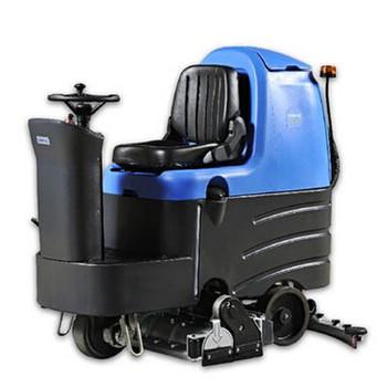 自流平地面用洗扫一体车 驾驶式