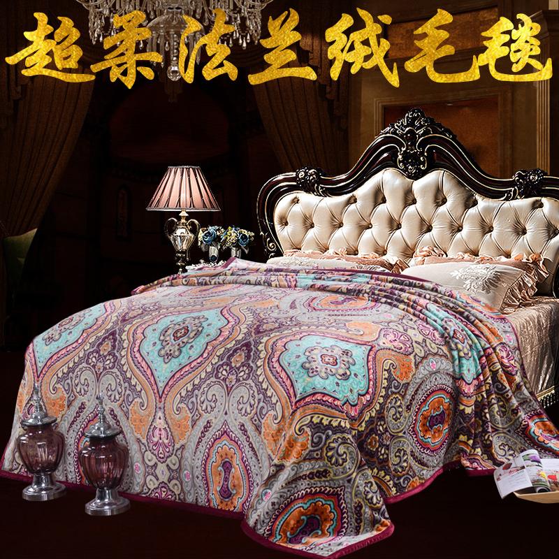 加厚單人絨毯法蘭絨床單珊瑚學生宿舍空調毛毯雙人冬季