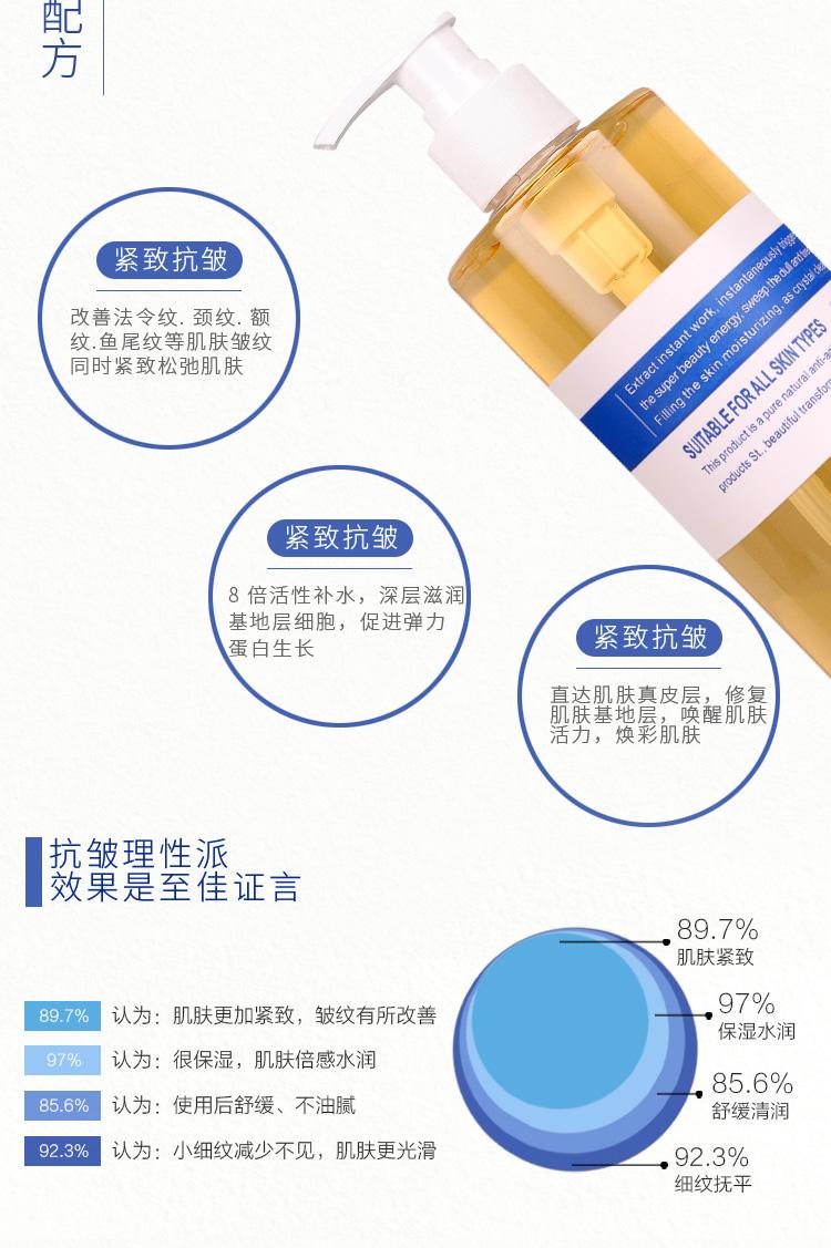 六胜肽原液玻尿酸面部精华涂抹式去皱纹保湿抗皱抗衰老紧致皮肤