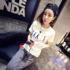 2017夏装大码女装韩版修身体恤打底衫上衣纯棉学生白色短袖t恤女