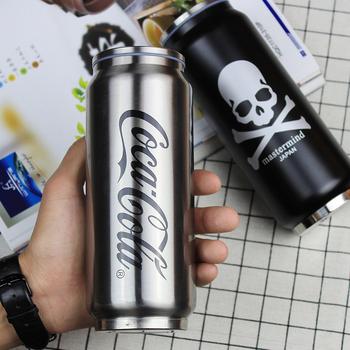 创意supreme百事可口可乐罐不锈