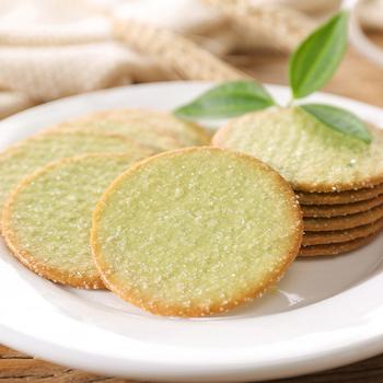 绿豆片4斤白糖饼干薄脆散装小包