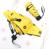 超轻小迷你太阳伞遮阳防紫外线女折叠晴雨伞两用防晒五折伞口袋伞