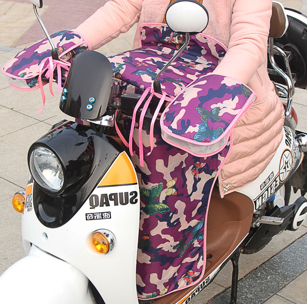 走光夏季防风手套防水防晒春季挡风分体遮阳电瓶车电动车