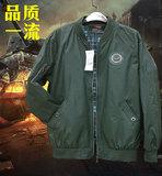 春秋季200斤空军飞行员机能夹克 潮男士加肥加大棒球服超大码外套