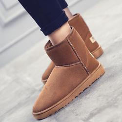 韩版短筒靴情侣款雪地靴