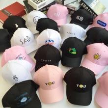 林小宅权志龙同款黑白色帽子休闲百搭棒球帽鸭舌帽男女韩版学生帽