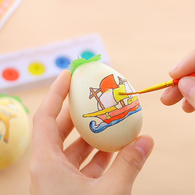 六一儿童节礼物彩蛋涂色玩具礼品手工diy装饰手绘图片