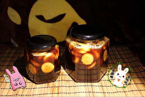 水果茶狂减肚子茶果粒茶 纯手工自制无添加 黑糖香蕉醋 苏大厨