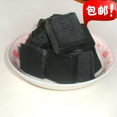 李记轩包邮湖南特产黑色长沙臭豆腐生胚原坯送酱汤料500克20片
