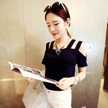 [最后两小时] 美丽说2015春季最新款闺蜜女装韩版修身短裙文艺通勤日系T恤衫
