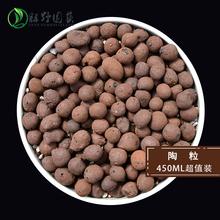 绿野园艺 垫底陶粒450ML装吸水保水净化空气多肉植物肥料花土特价