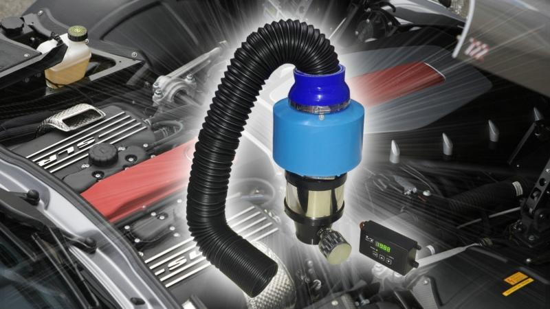 可调自动变速汽车电动电子涡轮增压器动力提升改装增压器节油器