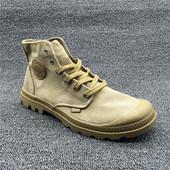 高帮男鞋帕拉丁户外登山休闲鞋 个性高帮军靴复古风格