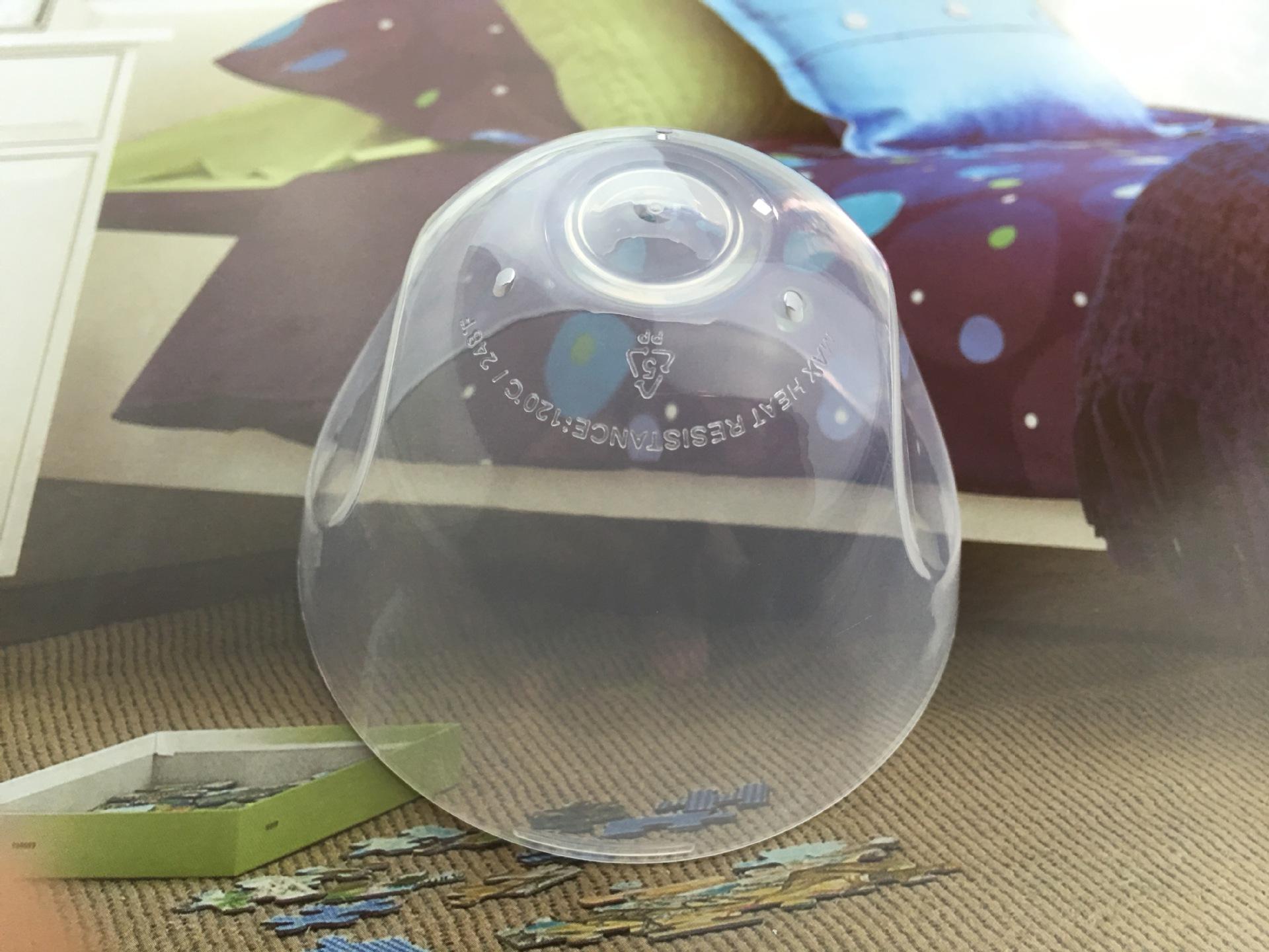 comotomo可么多么适用宽口径奶瓶盖子密封配件可么可多旋盖中间环