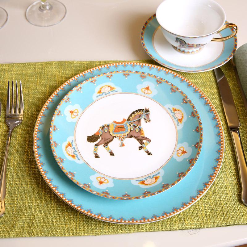 欧式美式样板间装饰餐具曼谷印象套装